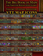 Fantasy VTT Map Icons Collection